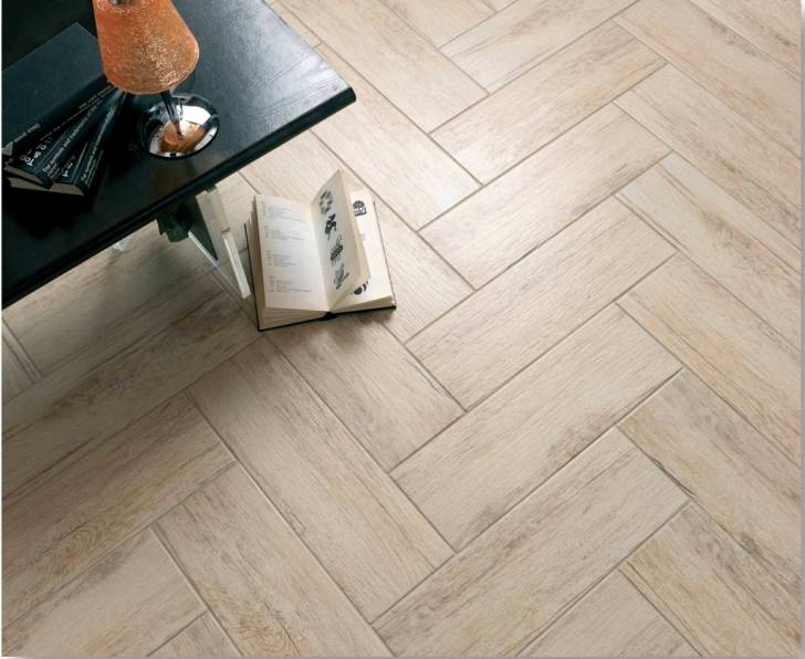 Porcelain Wood Look Tile Example