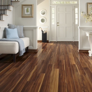 Vinyl Wood Flooring Example.