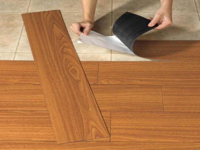 Wood or wood like which flooring should i choose dzine for Large vinyl floor tiles