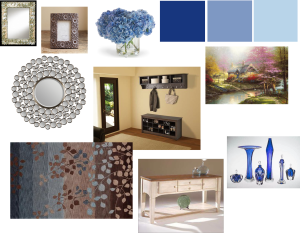 Example 2 foyer mood board.