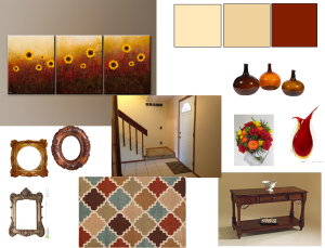Example 1 foyer mood board.