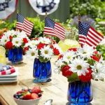 Fourth of July centerpieces. photo courtesy of uk.pinterest.com.