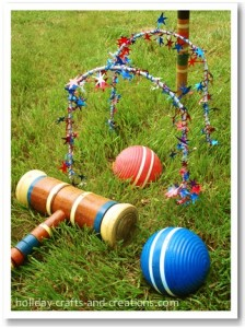 Croquet yard game. Photo courtesy of inspiringpretty.com.
